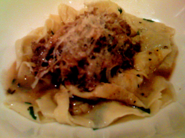 Pappardella with ragu