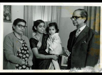 With anju and boo maasi