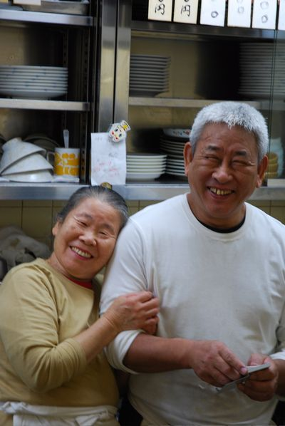 Chefs sharing a laugh 2
