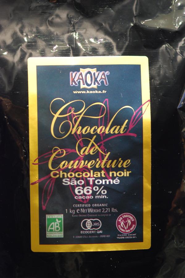 Kaoka Chocolate brand 66%