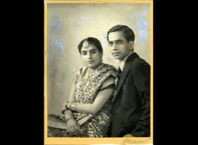 With nani wearing a tika