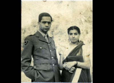 With nani in uniform