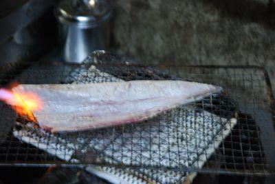 Tuna - skin blow torched