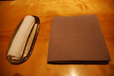 R - wet towel and napkin