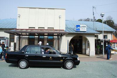 Yamazaki TS with taxi