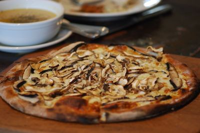 Pizza mushroom