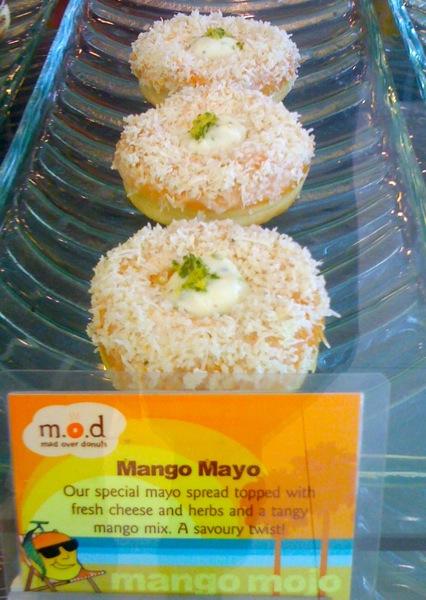 Mango mojo savory