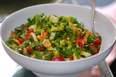 Fattoush full bowl