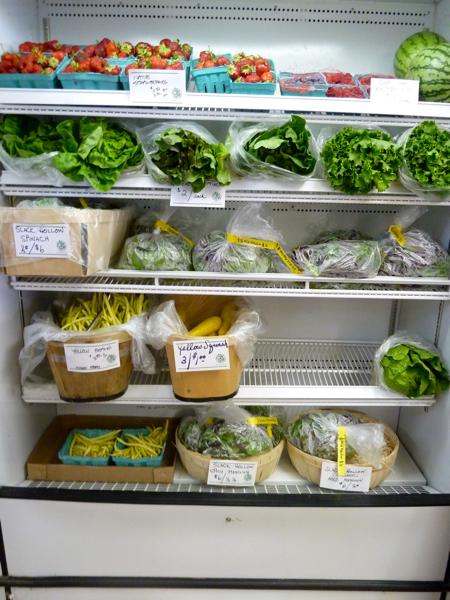 Greens and veggies
