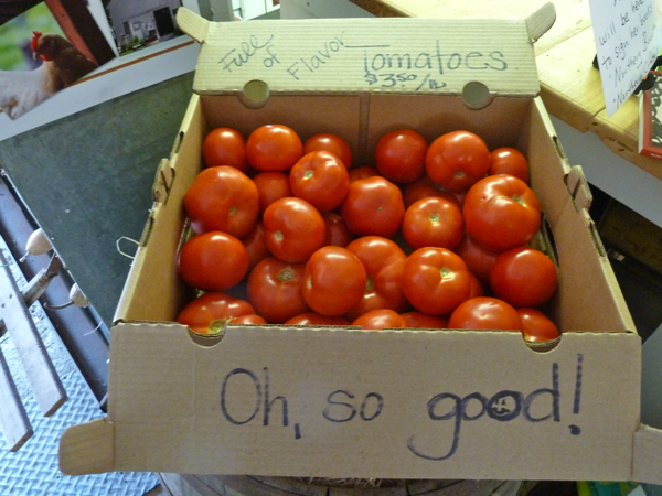 Oh so good tomatoes