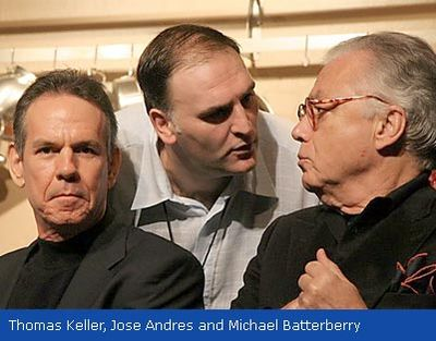 Michael, thomas keller, jose andres