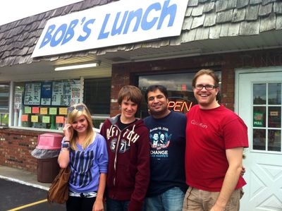 Infront of Bob's Lunch