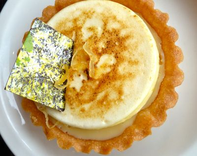 Lemon lime tart