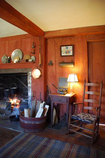 Hearth and chair