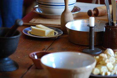 Butter, turnips and tools