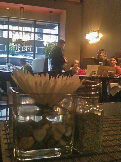 Vase and server at back1