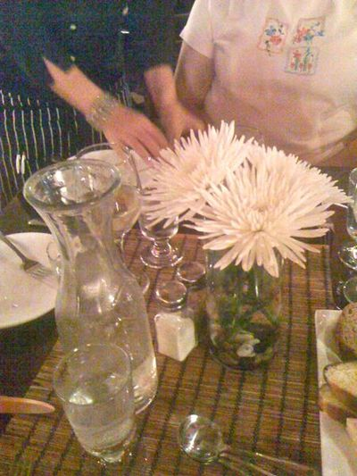 Water flower and table1