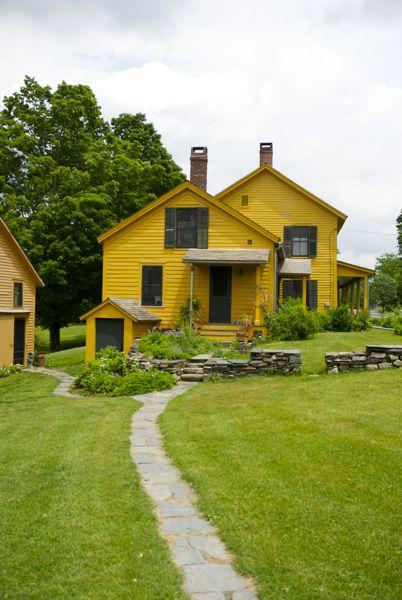 Side entrance and guest cottage vertical