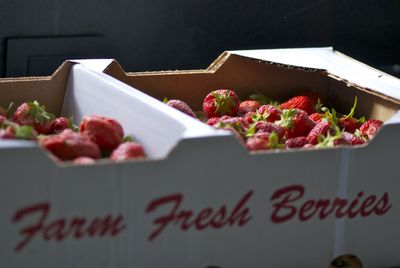 Farm fresh berries