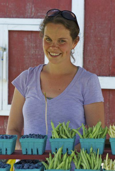 Christina with produce (main)