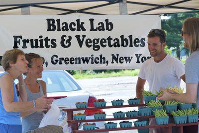 Black lab fruits & vegetables 2
