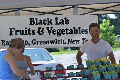 Black lab fruits & vegetables