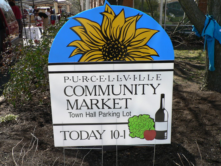 Purcellville community market