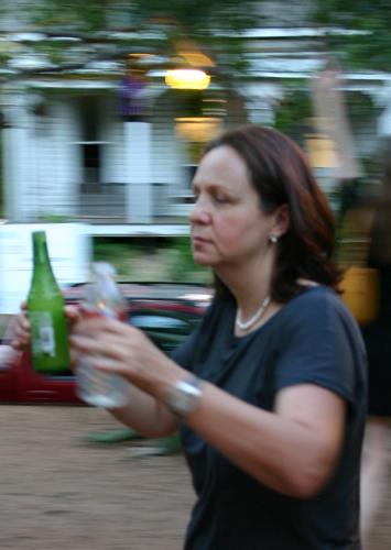 Iliana with drink orders