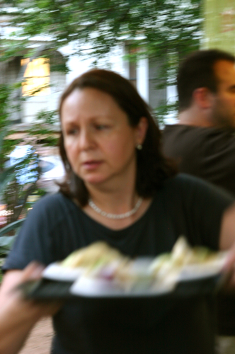 Iliana taking order