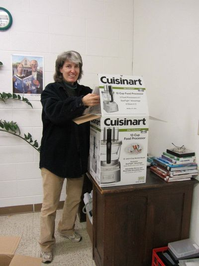 Ellen with cuisinart