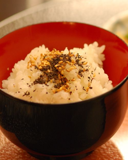 5th course rice